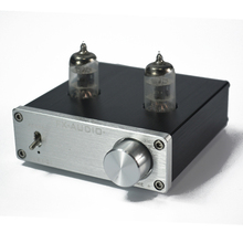 FX-AUDIO Feixiang TUBE-01 DC12V 1A Bile Preamp Tube Amplifier Buffer 6J1 HIFI Audio Preamplifier preamplificador Black/Silver