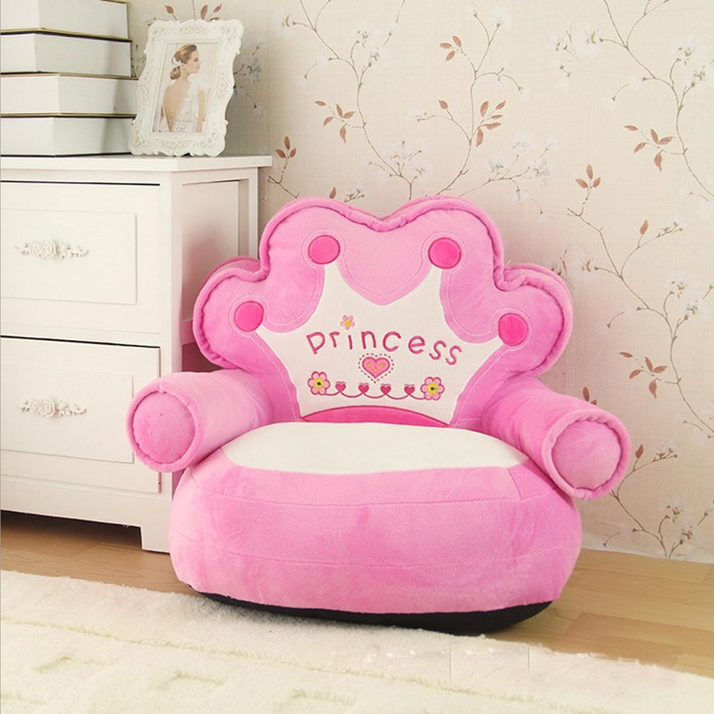 Дети диван мебель диван мультфильм для детские сиденья для милых девочек принцесса диван