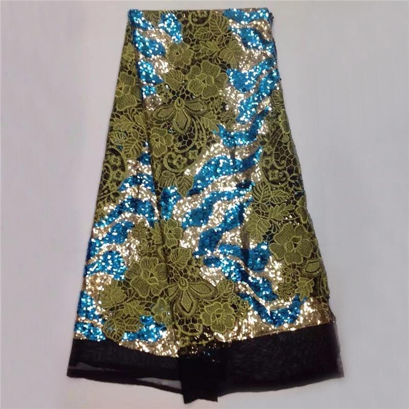 eersteklas kant stof met pailletten, groothandel mooie Afrikaanse - Kunsten, ambachten en naaien - Foto 6