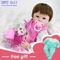 40 cm silicone reborn baby toys boneca crianças bonecas para meninas bebê vivo macio bebe reborn doll boneca da moda