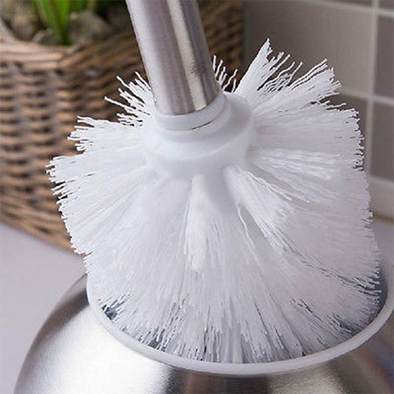 1 шт. Туалет головка щетки универсальный держатель Замена WC чистые щетки для Ванная комната оборудование для очистки