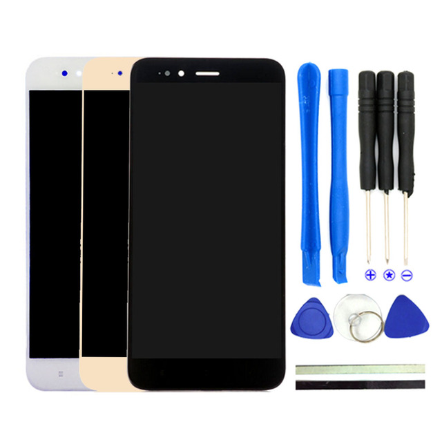 2017 New Arrival For Xiaomi Mi5X LCD Display Touch Screen Assembly For Xiaomi Mi5X Mi 5X M5X 5.15inch Phone Parts With Free Tool