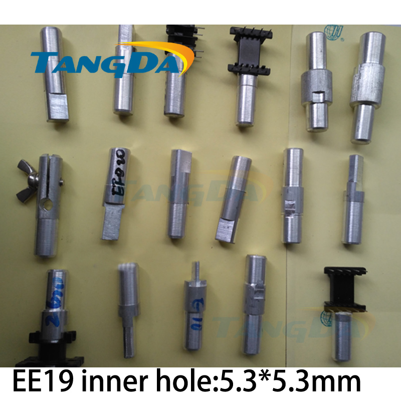 Tangda EE EE19 inner hole:5.3*5.3mm Jig fixtures Interface:12mm for Transformer skeleton Connector clamp Hand machine Clips