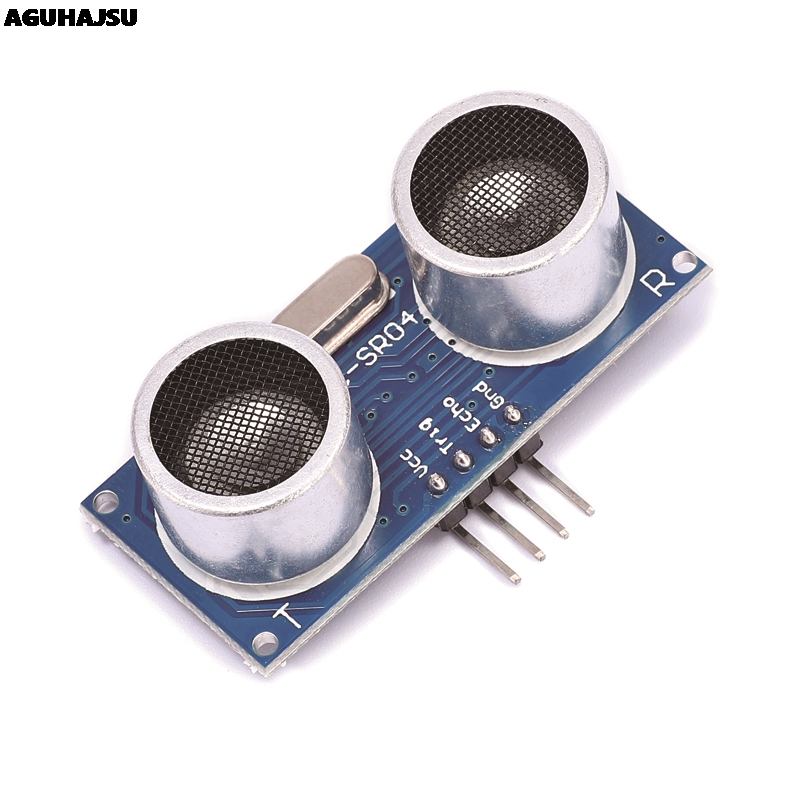 Ultrasonic sensor HC-SR04 HCSR04 to world Ultrasonic Wave Detector Ranging Module HC SR04 HCSR04 Distance Sensor For Arduino image