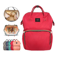 Mummy Diaper Bag Large Capacity Baby Nappy Bag Desiger Nursing Bag Fashion Travel Backpack Baby Care