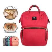 Mummy Diaper Bag Large Capacity Baby Nappy Bag Desiger Nursing Bag Fashion Travel Backpack Baby Care