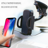 Techhole Store Car Wireless Charger Qi 10W Infrared Intelligent Induction Automatic Car Bracket for iPhone XS Samsung S10