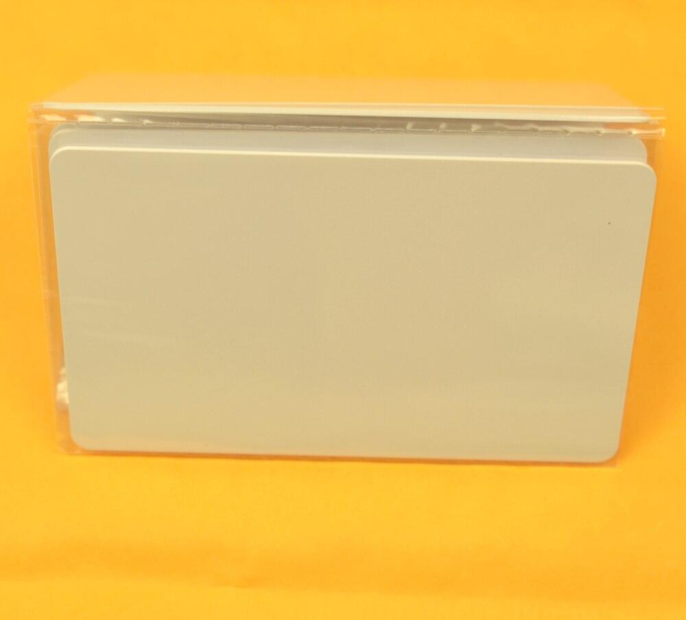 1pcs/lot 125khz Inkjet Printable PVC ID card EM4100/TK4100 200pcs lot premium blank white pvc inkjet printable card no chip double side printing for all inkjet printers
