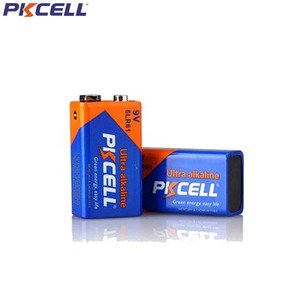 Image 2 - 5Pcs PKCELL 9V 6LR61 Alkaline Battery 1604A 6AM6 MN1604 522 Super Dry Batteries primary battery For Gas Stoves Water Heater