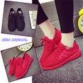 Al por mayor Nueva Llegada de Las Mujeres Ocasionales Clásicos Zapatos con cordones Respirable Bajo-top de Las Mujeres Cómodas Zapatillas Deportivas Mujer