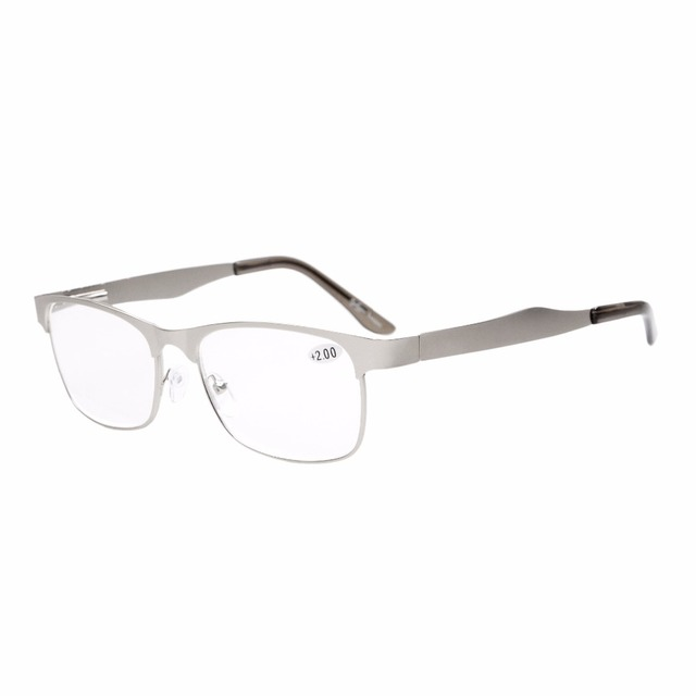 9daffbbc13 R15017 Eyekepper Readers Metal Frame Spring Hinge Reading Glasses   Reading  Sunglasses +0.50----+4.00