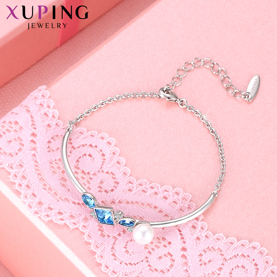 6e8d025ad Xuping Jewelry Retro Temperament Bracelets Crystals from Swarovski  Imitation pearl for Women Thanksgiving Gifts M96-