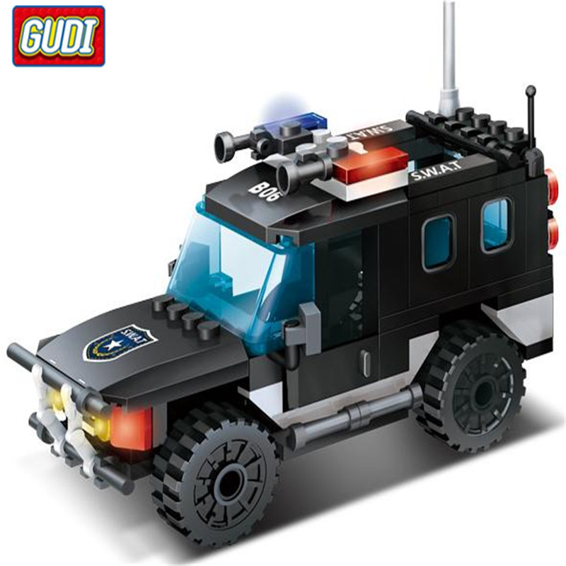 SWAT Command Center 566 Pcs Bricks Assemble Building Blocks Set Toys For Children 9413 магнитола swat mex 2430ub