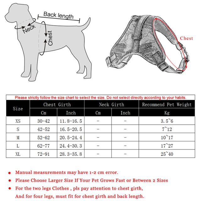 Durable Reflective Dog Harness