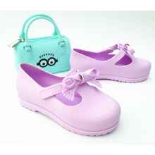Mntrerm 2017 New Hot Kids Mule And Clogs Kids Candy Color Garden Shoes Fashion Bow Tie Jelly Baech Cool Sandals