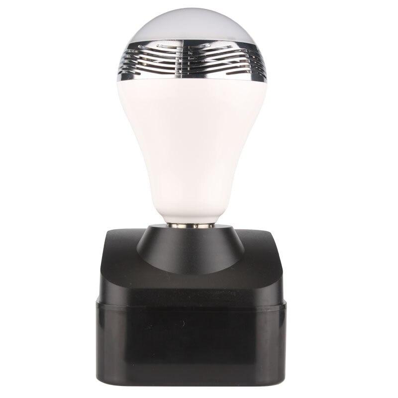 6 W LED ampoule intelligente E27 Bluetooth haut-parleur Portable sans fil musique intelligente colorée RGB bulle boule lampe pour iPhone Samsung - 3
