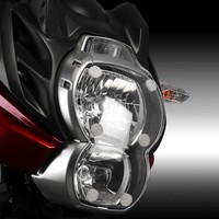 FOR KAWASAKI VERSYS 650 2010 2014 motorcycle accessories ABS headlight protector cover filter protection sheet