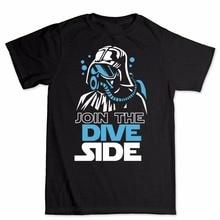 Verbinden Die Dive Dark Side Scuba Div ING Unterwasser T-shirt New Männer/Frauen Kurzarm T-Shirt Sturm trooper t-shirts