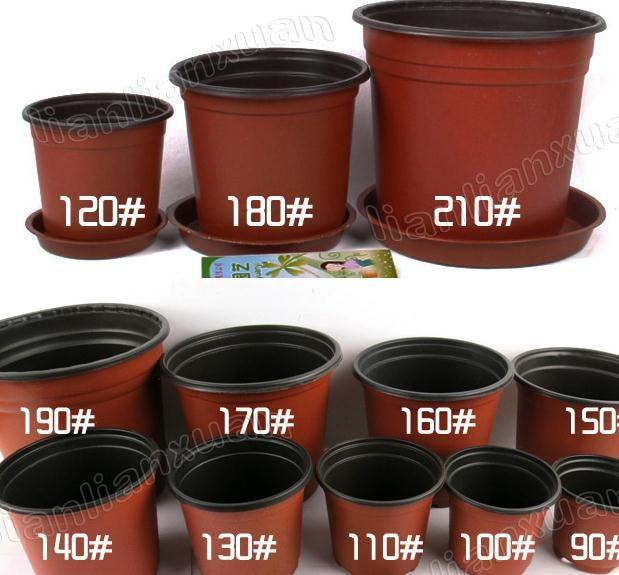 Acheter livraison gratuite 30 pcs lote - Pot en plastique jardin ...