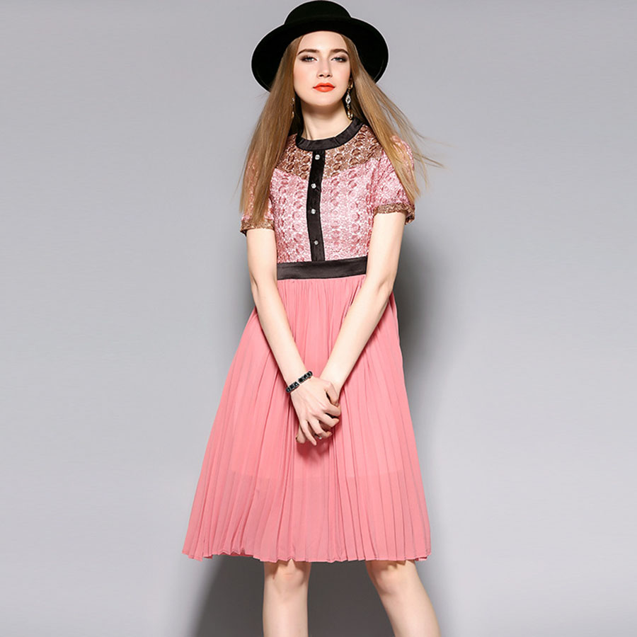 Online Buy Wholesale cute pink dresses from China cute pink ...
