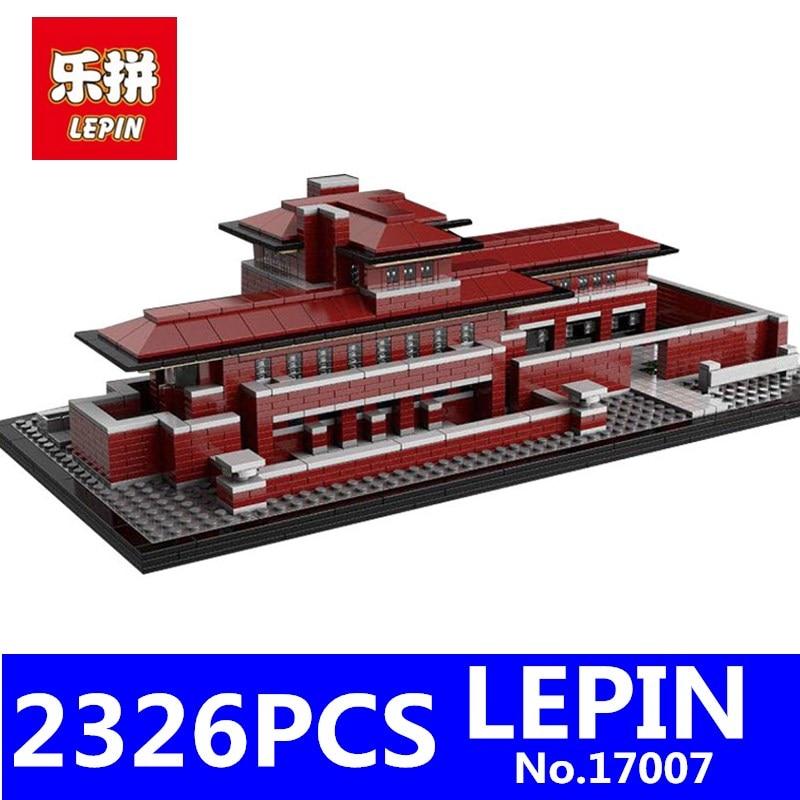LEPIN 17007 2326Pcs Genuine Architectures