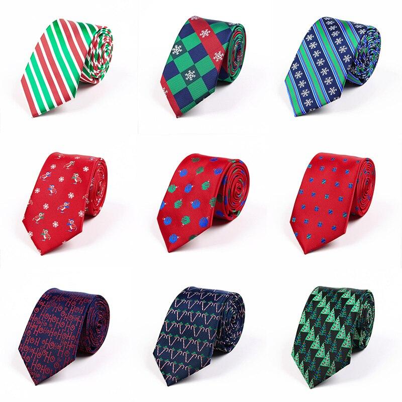 2018 Neue Weihnachten Krawatte Seide Jacquard 7,5 Cmsnowflakes Weihnachten Krawatte Die Krawatte Der Männer Beste Weihnachten Tag Geschenk Für Mann üBerlegene (In) QualitäT