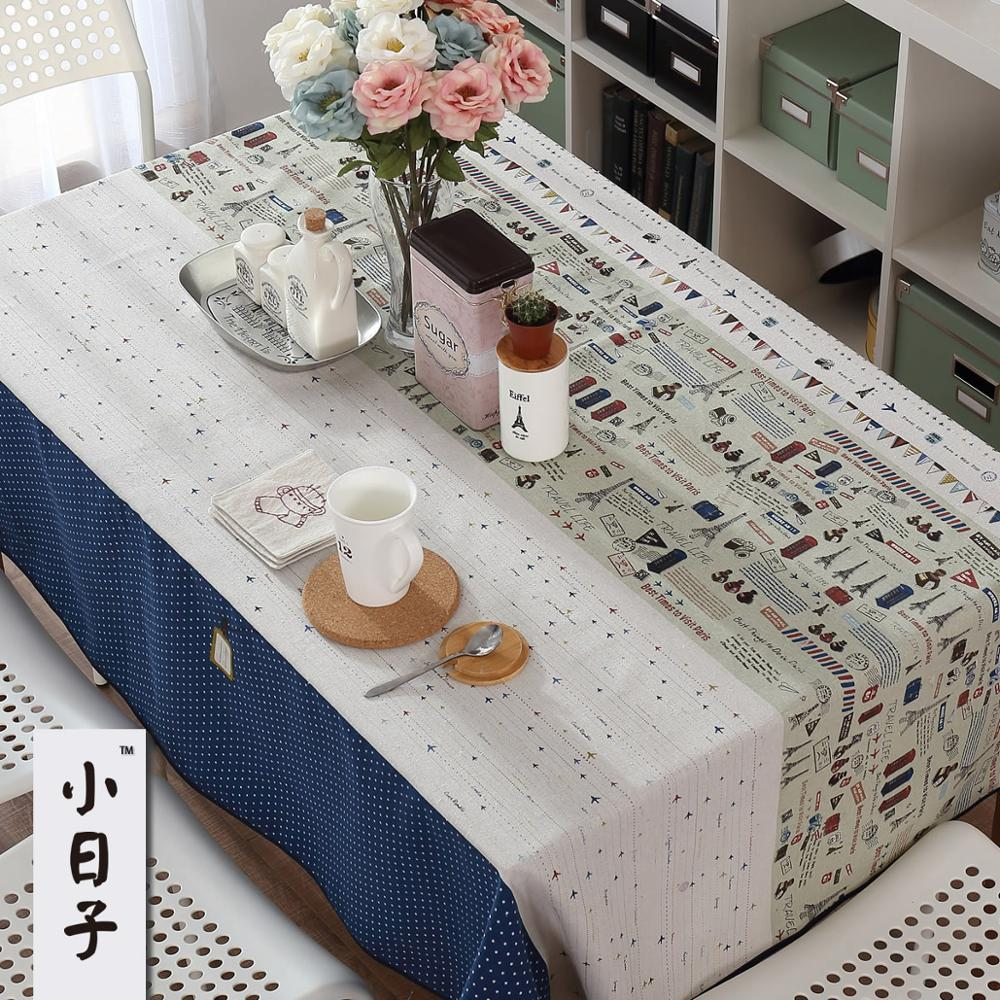 Good Quality Cloth Fluid Dining Table Rectangle Square Tablecloth Different Sizes Are Available