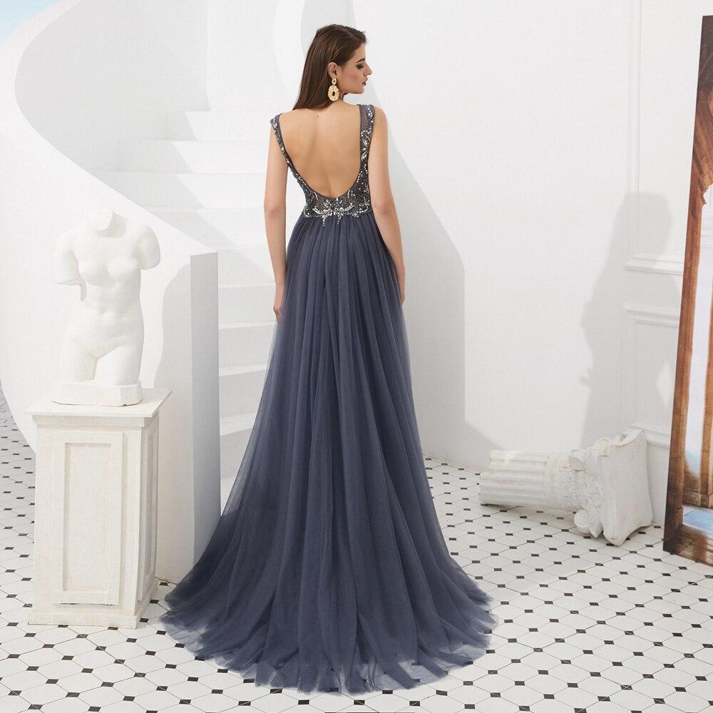 buy Luxury Mermaid Prom Dress Beading Crystal Evening Gown
