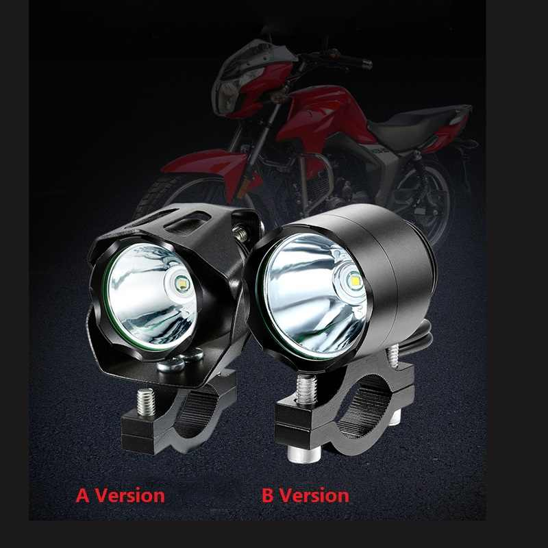 Waterproof e-bike headlight XML T6 Led 10W input DC 12V 36V 48V 60V Electric Bicycle Headlight Front Lamp For Moto Bike