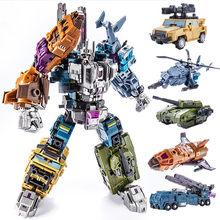 Weijiang 5 в 1 Новый PT05 трансформация фильма, игрушки мальчик COOL predaking Опустошитель робот KO G1 фигурка модель детская игрушка, игрушка, детская игр...