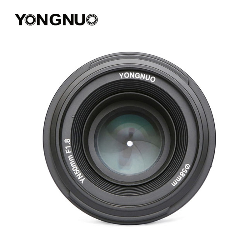 YONGNUO YN 50mm YN50mm F1.8 Lens Large Aperture AF/MF Auto Focus Fixed Lens for Canon EOS or Nikon DSLR Camera