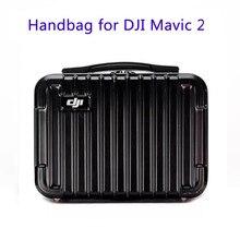 Hardshell portátil saco de armazenamento à prova dwaterproof água caixa protetora caso de transporte para dji mavic 2 pro zoom bolsa carry bag