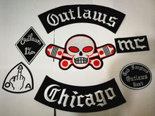 Outlaws Chicago แพทช์ปัก(China)