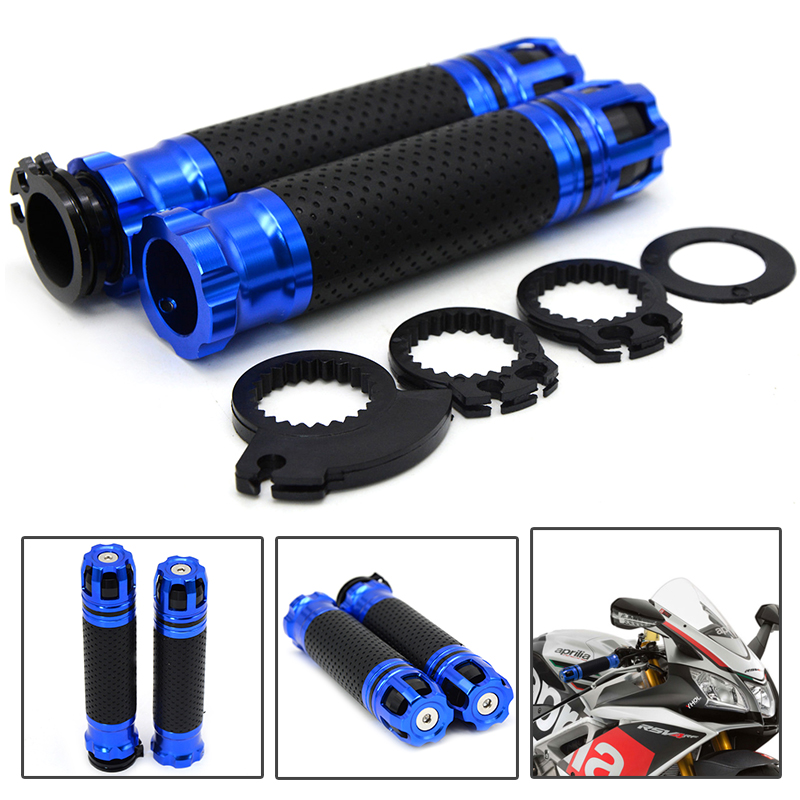 FOR 7/8 22MM Handlebar Grips Handle Bar End Skid Hand Grip Universal Motorcycle For SUZUKI GSF 600 Bandit S-X 1995 1996 1997 19 cycling grips bicycle bar end handlebar pair blue