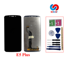 6,0 «ЖК-Экран тела для Motorola Moto E5 плюс Панель Дисплей + Touch Стекло XT1924 XT1924-1 XT1924-2 планшета Ассамблеи запчасти