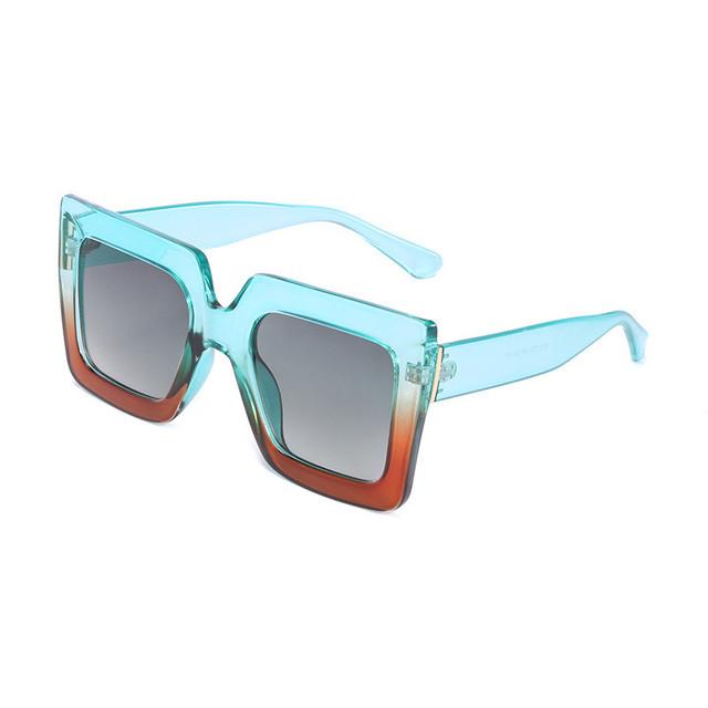 Fashion Square Sunglasses Women Brand Designer Oversized Sun Glasses Ladies UV400 For Female Big Frame Shades S8029