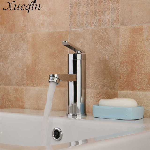 Xueqin Single Handle Bathroom Hot/Cold Water Mixer Taps Basin ...