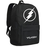 Zshop DC Manga Heroes The Flash Backpack Children Schoolbag Justice League Daypack