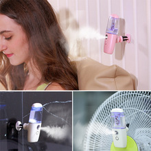 Portable Vehicle-mounted Facial Body Mist Sprayer Nebulizer Steamer Humidifier Face Skin Care Mini USB Anion Moisturizing Spray