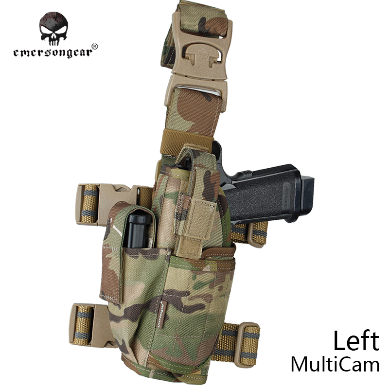 SPECIAL OPS TACTICAL LEG HOLSTER 9 MM LARGE FRAME AUTO/'S ACU DIGITAL CAMOUFLAGE
