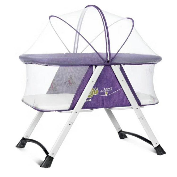 Nouveau-né bébé berceau lit portable pliant bébé lit jouer cribscan pousser bébé nid bébé berceaux