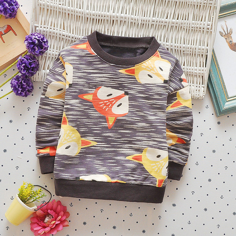 Casual-Autumn-Baby-Babi-Children-Girls-Boys-Infants-Printed-Cartoon-Fox-Cotton-Long-Sleeve-T-shirt-Tops-Tee-Clothes-S5571-2