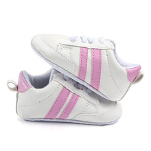 2017 New Soft Bottom Fashion Sneakers Baby Boys Girls First Walkers Baby Indoor Non-slop Toddler Shoes 4 Colors