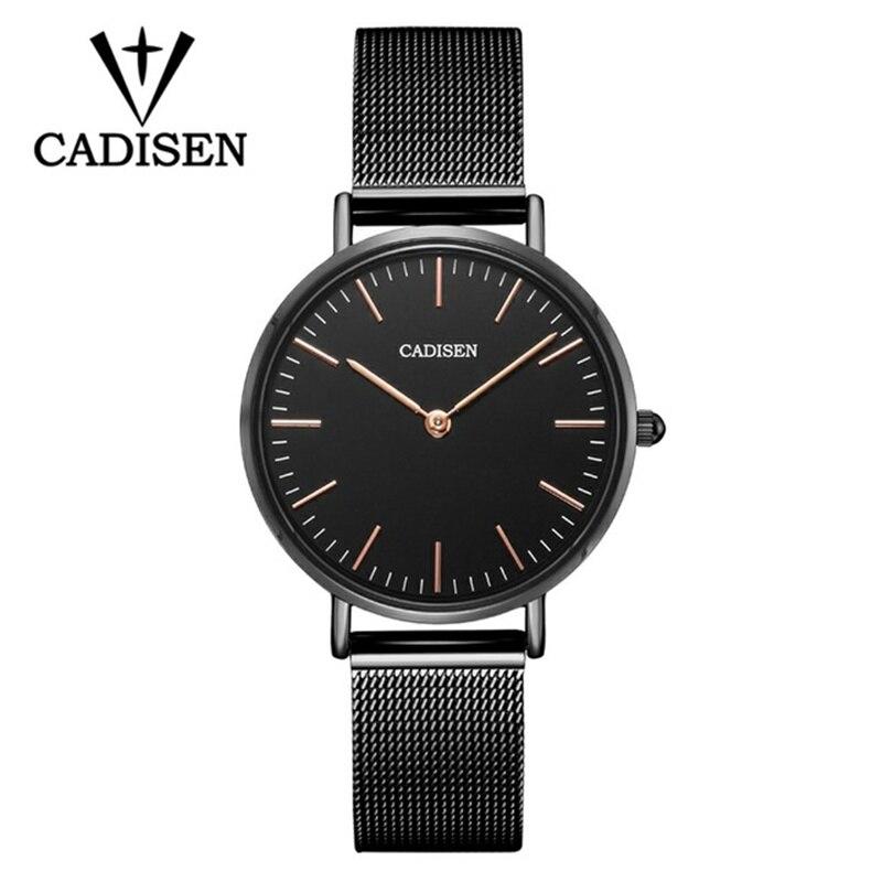2018 Super Slim Gold Mesh Stainless Steel Watches Women Top Brand Luxury Casual Clock Ladies Wrist Watch Relogio Feminino Gift