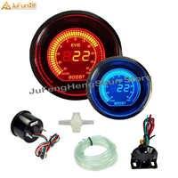 52 millimetri Auto Turbo Boost Gauge Auto Schermo A CRISTALLI LIQUIDI Digital Psi 12 V Indicatori Blu e LA Luce Rossa del LED Boost meter con Boost Sensore per Auto