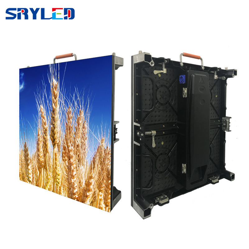 P3.91 P4.81  Indoor Rental LED Display Screen, 500mmx 500mm Die Casting Aluminum LED Cabinet  For Stage, Meeting, Wedding