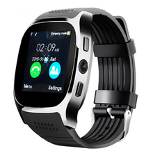 T8 1.54inch screen support SIM card TF card heart rate sleep monitoring alarm clock remote camera movement smart watch bracelet