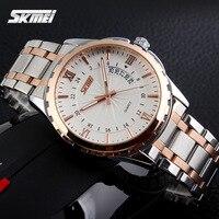 Watches Men Luxury Brand Quartz Watch Men Full Steel Wristwatches Casual Clock Relogio Masculino Reloj Hombre