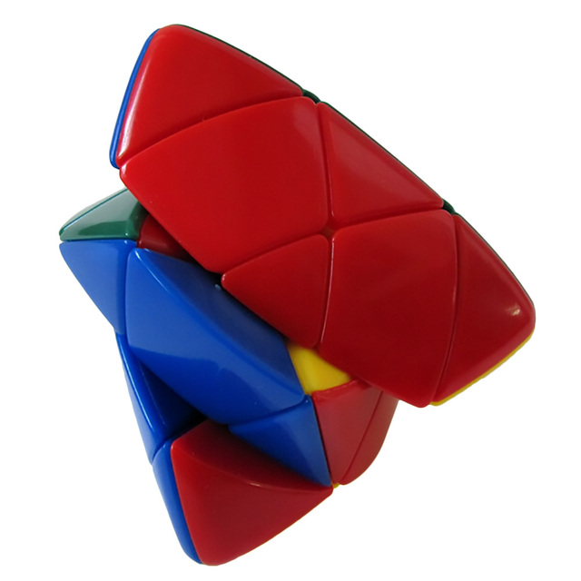 Round Corner Pyramid Magic Puzzle