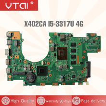 YTAI X402CA X502CA I5-3317U Mianboard for ASUS X402CA X502CA Laptop Motherboard HM76 REV:2.1 with I5-3317U 4G RAM Mainboard